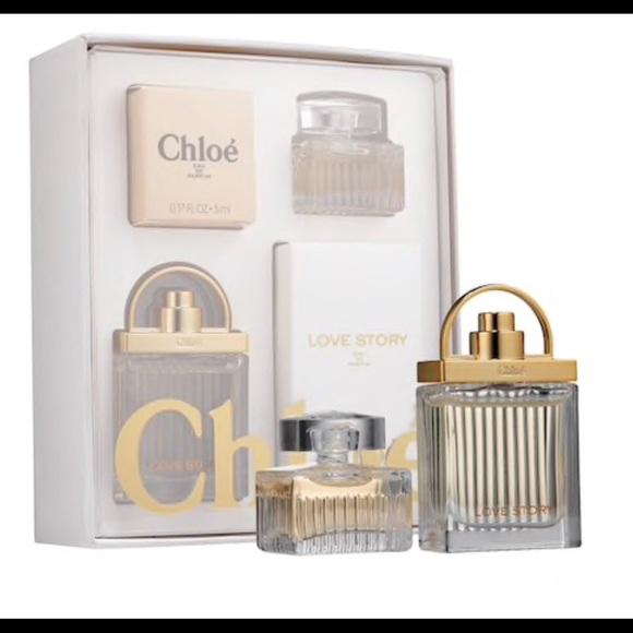 bdd91478ce48 Chloe eau de perfume sample set brand new